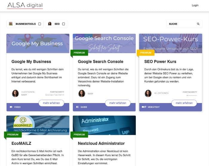 online Kurse anbieten - Kursplattform mit WordPress